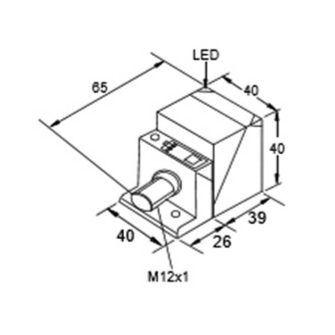 inductive proximity switches small m12 4 pin connector  india